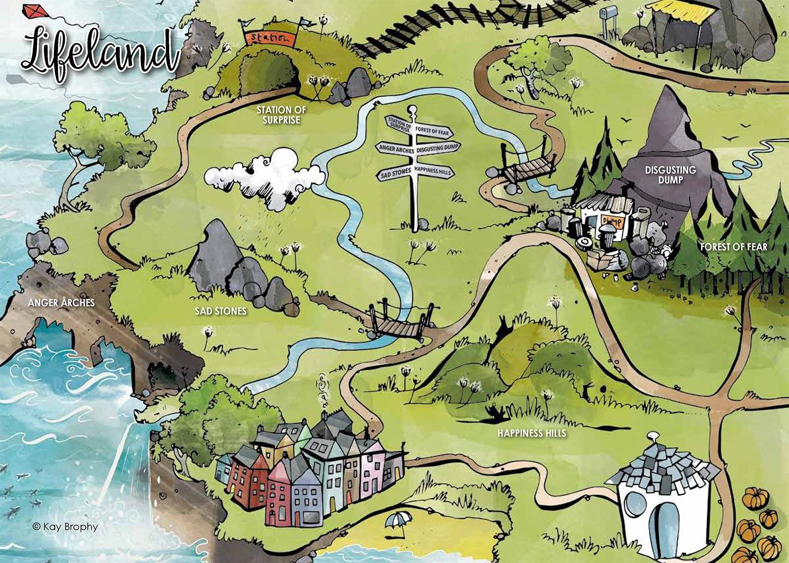 Lifeland Map